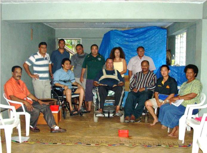 Above; the pioneers of VSIAF formed in 2007 in Mr Paul McGoon's garage, Nakasi